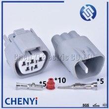 1 Set Sumitomo 5 Pin way male or female TS Waterproof 2.2 Series 6189-0504 6188-0327 Electric EVO Wiper Motor Connector