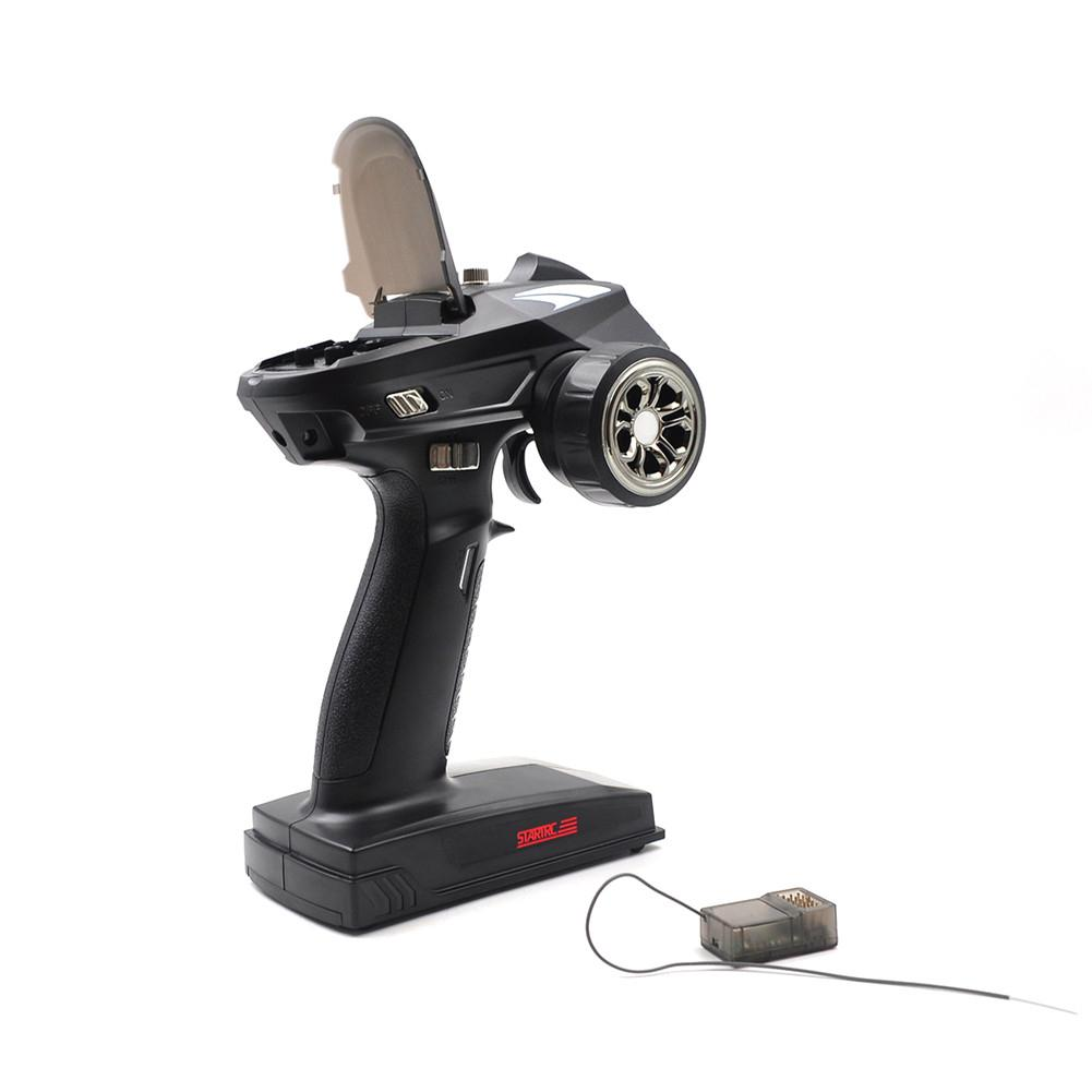 RCtown STARTRC S6 2.4GHz 6CH Transmitter With X6FG Receiver for Car And Boat