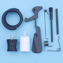 Gas Fuel Tank Rear Handle Repair Kit For Husqvarna 181 281 288 288XP 281XP Chainsaw Throttle Latch Arm Spring AV Buffer Vent