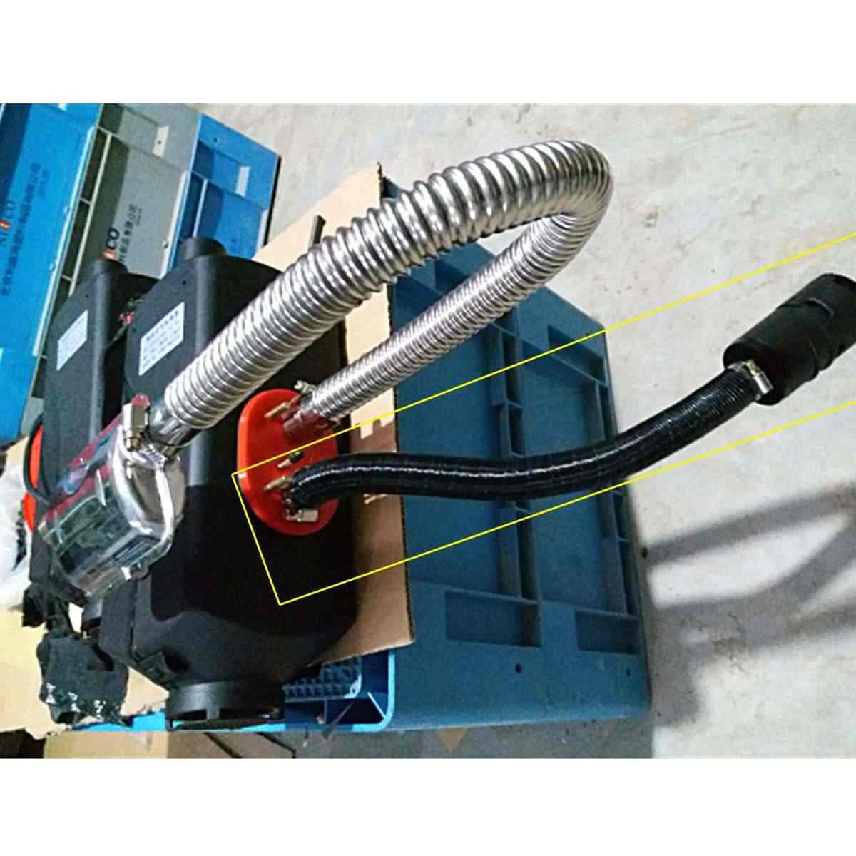 Autoleader 3 個フィルター燃焼空気パイプ用 12V 5KW 自動車ヒーター吸気ホース管出口排気ダクト空気システム