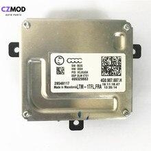 CZMOD Original 4G0.907.697.H DRL บัลลาสต์ไฟหน้า LED โมดูล 28548117 4G0907697H 499329883 รถอุปกรณ์เสริม