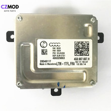Czmod original 4g0.907.697.h drl lastro farol led driver módulo 28548117 4g0907697h 499329883 acessórios do carro usado