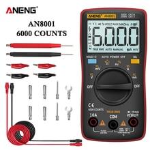 ANENG AN8001 Digital Multimeter Profesional 6000 Counts Capacitor tester EsrMeter Voltage Multitester Universal Meter Tester