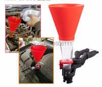 Embudo de aceite Universal para coche de gasolina, herramienta de aceite, embudo especial, Kit de equipo de llenado