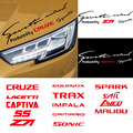Автомобильная фара, наклейка для Chevrolet Sonic Spark Sail Aveo Malibu Cruze Lacetti Captiva SS Z71 Equinox Trax Impala Camaro