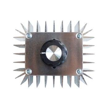 AC 220V LED Dimming Motor 400W 5000W Light Strip Dimmers ,Voltage Regulator High Power Thermostat SCR Speed Controller us 52 ac 220v speed motor controller speed regulator 400w power forword backword