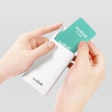 Youpin Mijia الجودة الإلكترونية حامل بطاقة الأعمال بطاقة حقيبة للتخزين الائتمان و ID علبة كرتون المنزلق محفظة صغيرة جيب