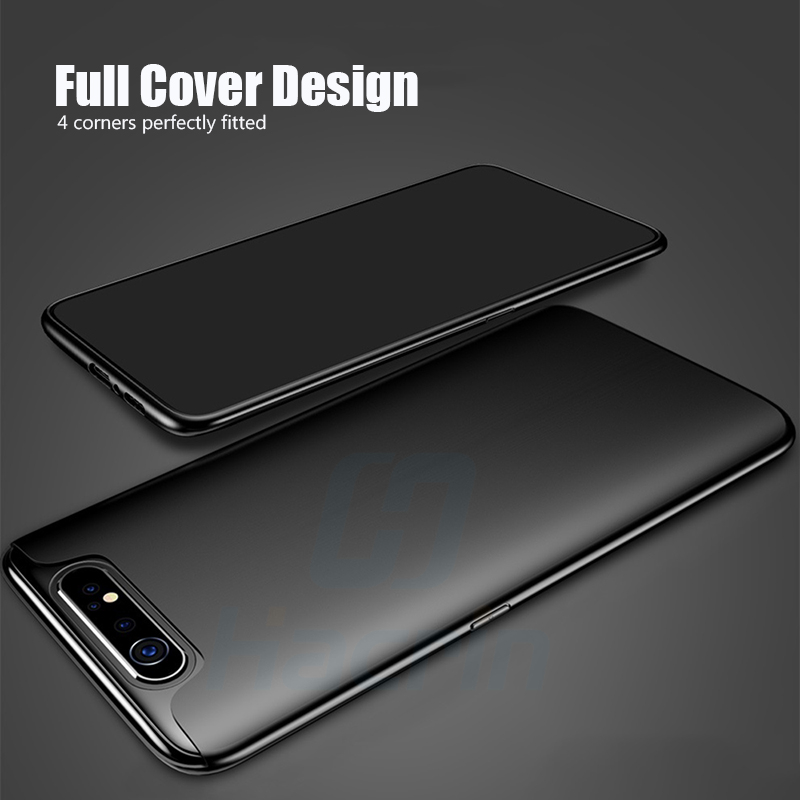 Hacrin Case For Samsung Galaxy A80 Case Soft TPU Slim Matte Bumper Back Cover For Samsung A80 Case Full Protective Bumper Coque in Fitted Cases from Cellphones Telecommunications