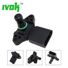 Baru Peta Sensor intake Manifold Pressure untuk VW Bora Caddy Golf Lupo New Beetle Polo Vento 1.2 1.4 1.6 03D906051(China)