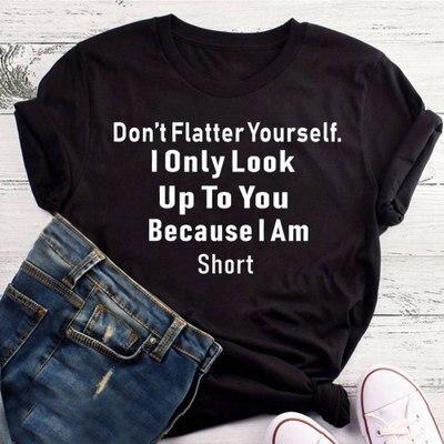 2019 Fashion Women T-shirt Feminist Women Tees Top Slogan Feminist Short Sleeve Black White Casual Letter Printed Woman Clothes