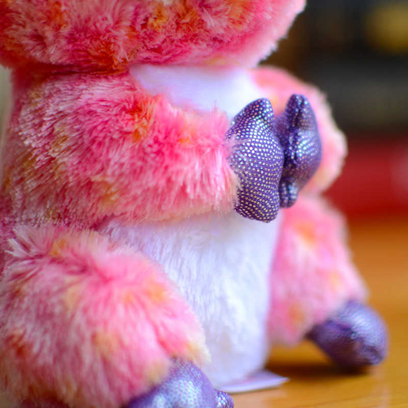 Original t grandes olhos crianças brinquedos de pelúcia recheado koala bonito crianças presentes de natal adorável kawaii pelúcia animais bonecas coleção