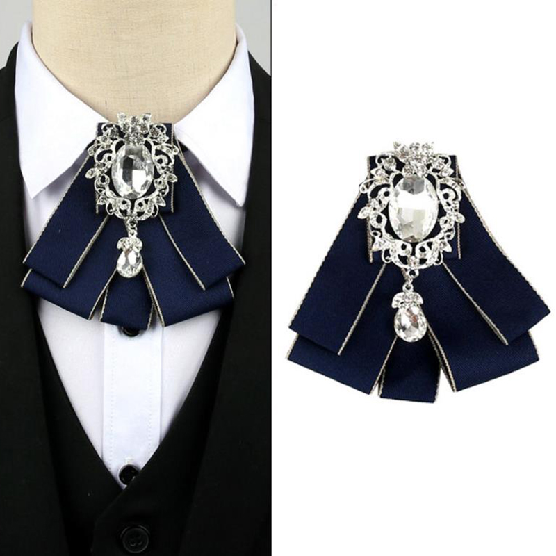 Ribbon Bow Neck Tie Women's Wedding Dress Shirt Blouse Ties Silk Bowtie Best Man Bridegroom Collar Outfit Accessories