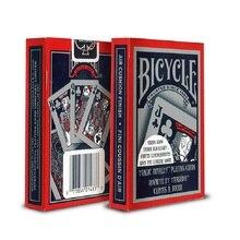 1 шт., велосипедная Волшебная карточная игра в покер для сценического искусства, волшебные трюки для профессионального волшебника
