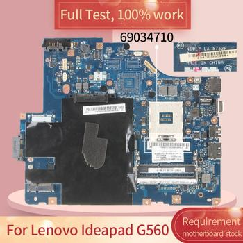 69034710 For Lenovo Ideapad G560 LA-5752P 11S69034710ZZ HM55 motherboard Mainboard full test 100% work