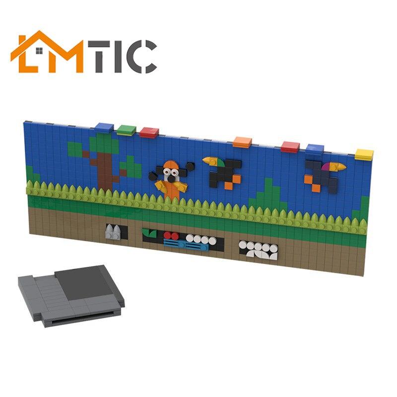 Diy Bricks Console Video-Games NES Toys Building-Blocks MOC Classic-Edition Tech Mini