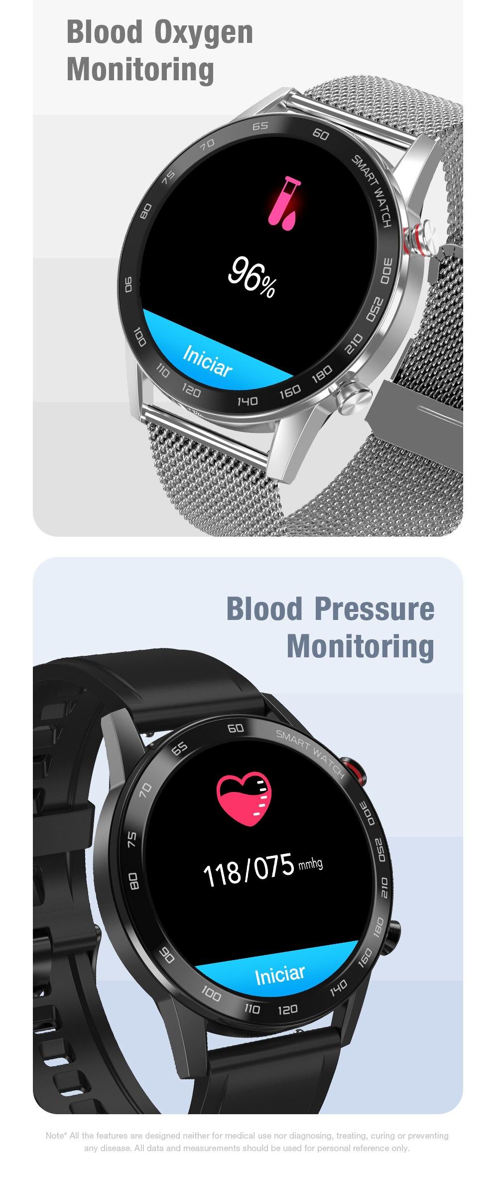 smartwatch masculino esporte pulseira de fitness relógios
