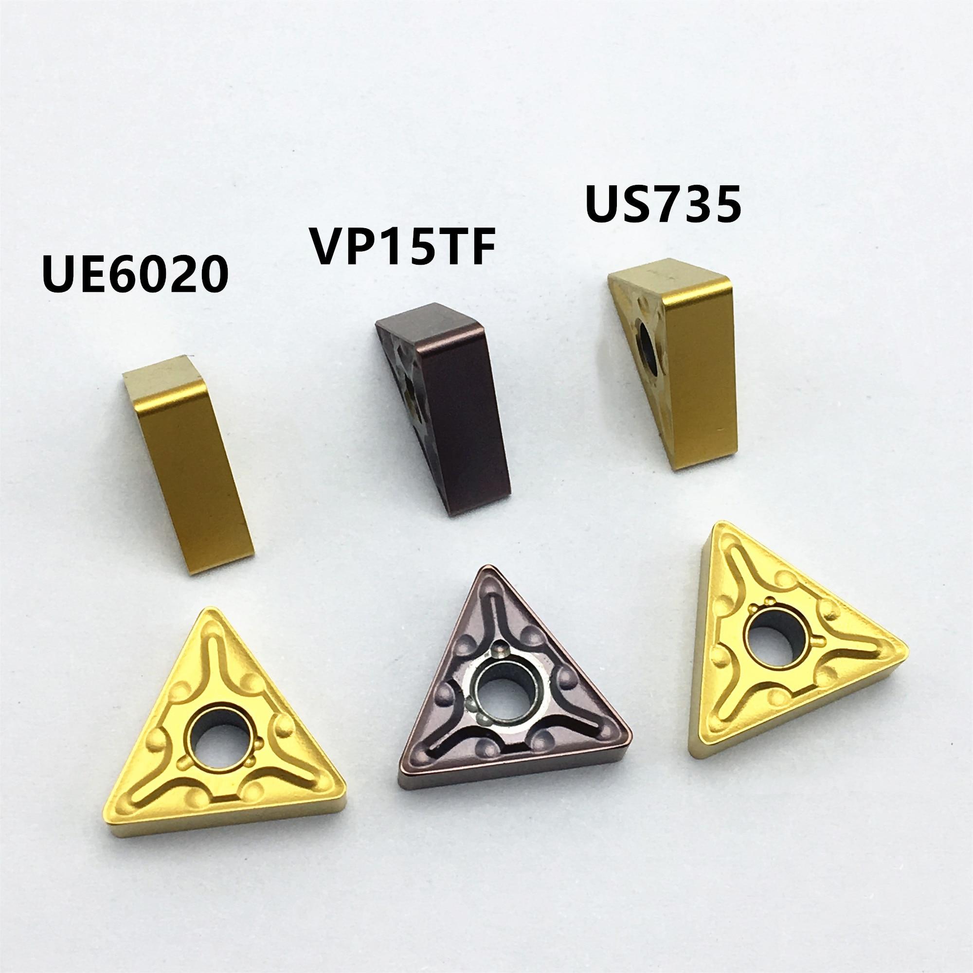 TNMG160404 MA UE6020/VP15TF/US735 TNMG160408 MA UE6020 US735 VP15TF Carbide Insert Lathe Tool Turning Tool CNC Tool Tnmg