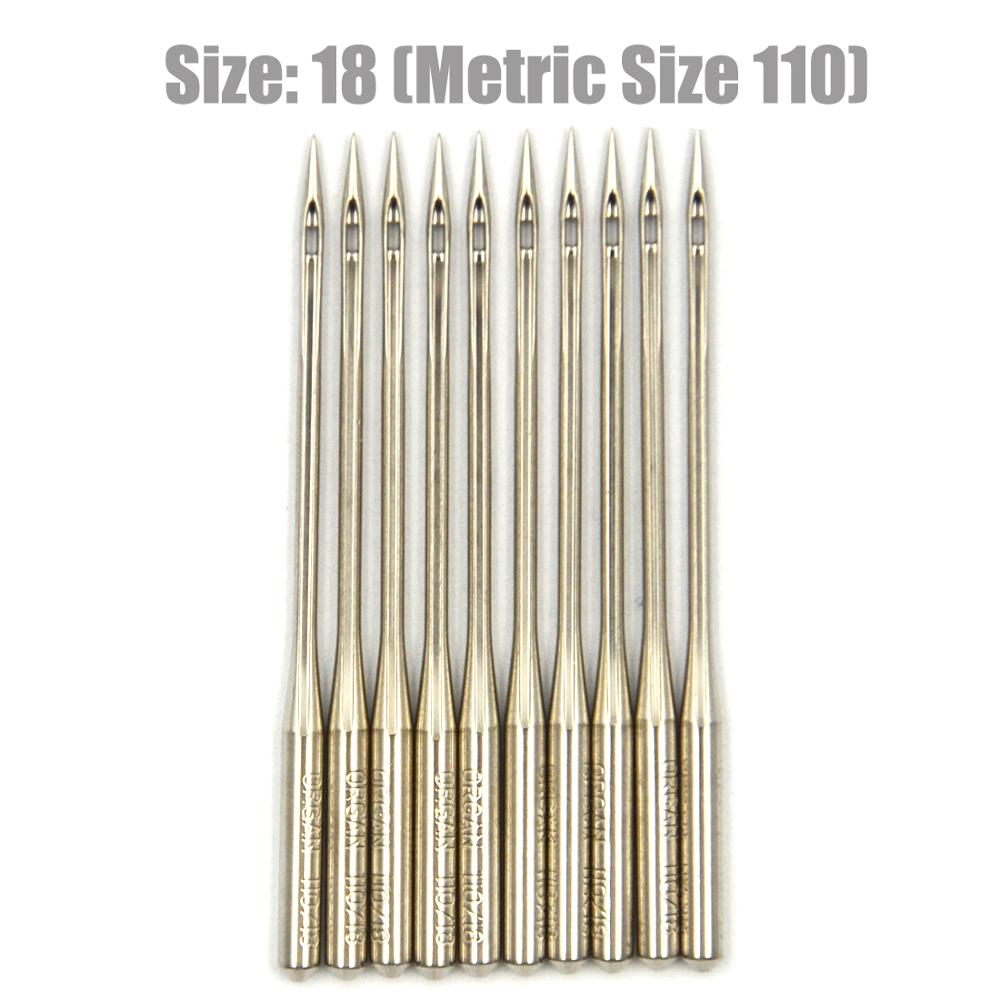 100 Home Sewing Machine Needles 15X1 HAX1 130//705H SIze 11 metric 75