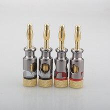 12 sztuk Nakamichi wtyk bananowy drutu Złączki kablowe AWG 2 Gauge