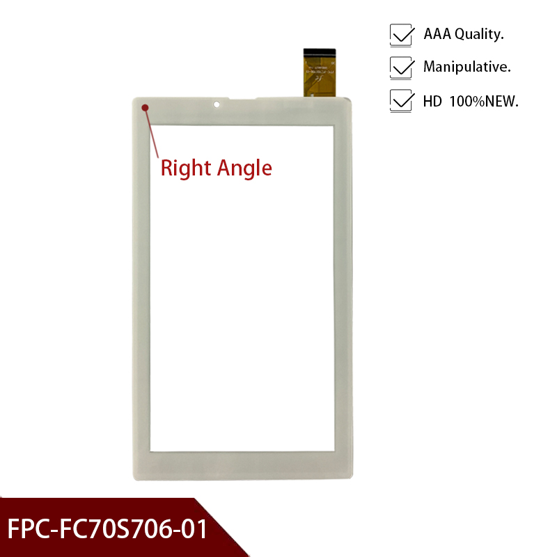 New 7 Inch Replacement FPC-FC70S706-01 Touch Screen Handwriting Screen Capacitive Screen Free Shipping