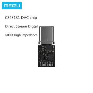 Image 3 - الأصلي Meizu HIFI DAC فك مضخم ضوت سماعات الأذن برو نوع C إلى 3.5 مللي متر محول الصوت سيروس و TI سوبر مرحلتين مكبر للصوت