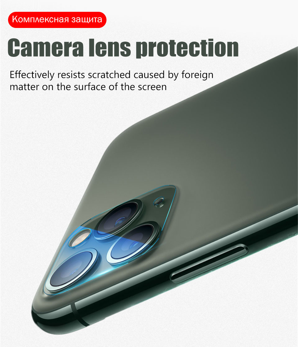 Camera Lens Glass Screen Protector for iPhone 11 Pro Max X XR XS MAX Lens 9