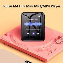 RUIZU M4 Bluetooth MP4 çalar Mini 1.8 inç tam dokunmatik ekran FM radyo kayıt e kitap müzik Video oynatıcı dahili hoparlör