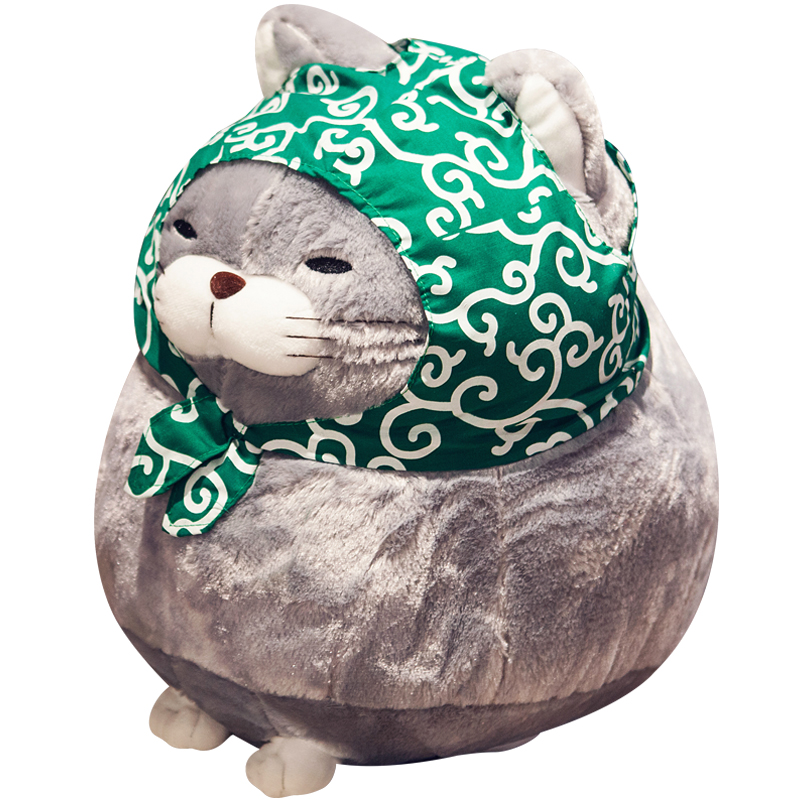 1PCS 30CM/40CM cute cat plush doll, simulation soft stuffed plush toys, Home Decor Gift Doll for Kids Girl