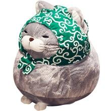 1 pçs 30cm/40cm bonito gato pelúcia boneca, simulação macio pelúcia brinquedos, casa decoração presente boneca para crianças menina
