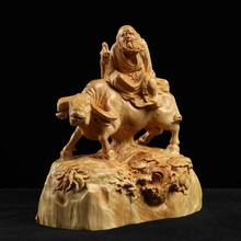 Laozi-estatua del antiguo maestro laozi de 12cm, escultura de laozi, arte moderna de madera, estatua tibetana, acessos de dec