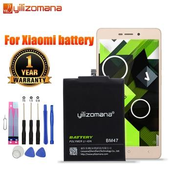 YILIZOMANA Original Phone Battery BM45 BM46 BM47 BN41 BN43 For Xiaomi Redmi 4X 3S 3X 3 Pro Note 3 3Pro Note 4 Note2 Bateria