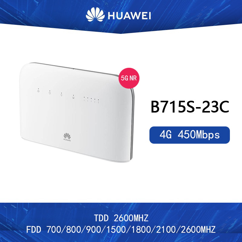 New Original Unlocked Huawei B715s-23c 4G LTE Cat9 Band1/3/7/8/20/28/32/38 CPE 4G WiFi Router B715s-23c PK B618  E5788 M1