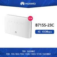 new Original Unlocked Huawei B715s-23c 4G LTE Cat9 Band1/3/7/8/20/28/32/38 CPE 4G WiFi Router B715s-23c PK B618 E5788 m1