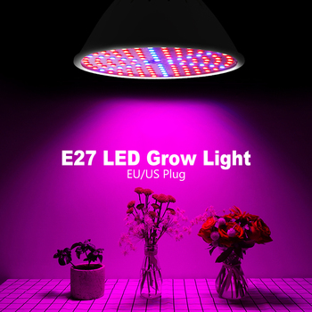 Phyto Lamp LED Full Spectrum Grow Light E27 Plant 20W Fitolamp For Indoor Seedlings Flower Box EU US Plug