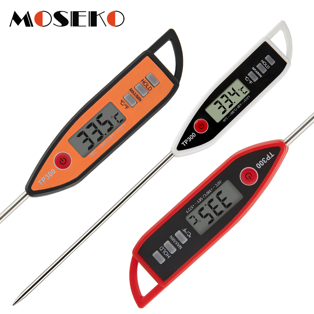 MOSEKO Newest Digital Meat Thermometer for Food Cooking Barbecue Water Candy Oven Milk Grill Temperature Gauge BBQ Kitchen Tools