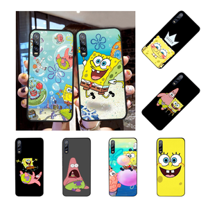 NBDRUICAI SpongeBobs SquarePants Sponge Bobs Best Friend Phone Case for Huawei Honor 20 10 9 8 8x 8c 9x 7c 7a Lite view(China)