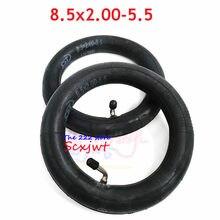 Alta qualidade 8.5x2.00-5.5 tubo interno 8*2.00-5 cst pneu interno para scooter elétrico inokim luz série v2 câmera