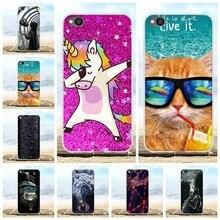 For Xiaomi Redmi Go Phone Case Ultra Slim Soft TPU Silicone Cover Animal Patterned Funda