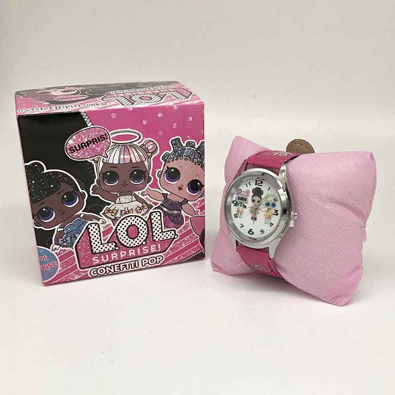Lol-reloj sorpresa Original para niña, con diseño de muñeca de dibujos animados, accesorios de juguete, regalo de cumpleaños, Navidad y Halloween
