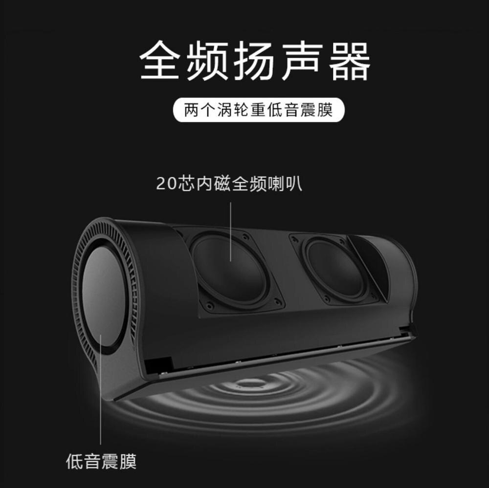 Nouveau mode privé Bluetooth haut-parleur en aluminium audio portable subwoofer ordinateur de bureau haut-parleur cadeau