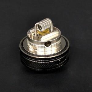 Image 4 - Qp Ontwerp Gata Rta Verstuiver Mtl Rta Tank 24Mm Wederopbouw Druipen Single Coil Wire Box Mods Kits Vs Berserker zeus Kylin