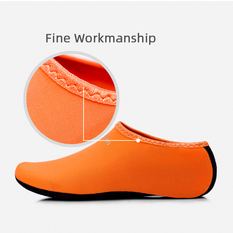 Outdoor Unisex Beach Sandals Diving Snorkeling Shoes Soft Slides Flats Non-Slip Shoes Slippers Swimming Water Breathable Shoes 4