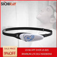 Hot Sale Brainlink Headset International Version Dry Electrode EEG headband Attention and Meditation Controller Neuro Feedback цена в Москве и Питере