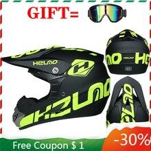 Professional Children's Lightweight Motocross Helmet Racing Off-road ATV Capacete Moto Casco Bicycle Downhill DH Cross Helmet