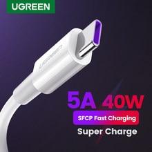 Ugreen 5A USB Typ C Kabel Schnelle Ladegerät Daten Typ-C Aufzurüsten USB Typ C Kabel für Huawei Mate 30 20 P30 P20 USB Lade Draht