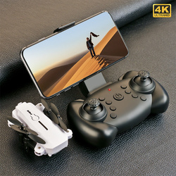 ZH New Mini Drone 4K Profesional HD Camera Wide Angle Fpv Dron WiFi Air Pressure Altitude Hold RC Helicopter Toys for Kids Gift