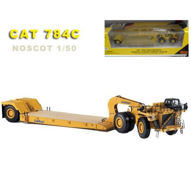 Limited CAT 1/50 échelle 784C tracteur remorque en alliage moulé sous pression modèle métal ingénierie véhicule Construction jouets enfants enfant cadeaux