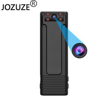 JOZUZE B21 HD 1080P Mini Camera Portable Digital Video Recorder Body Camera Night Vision Recorder Miniature Magnet Camcorder