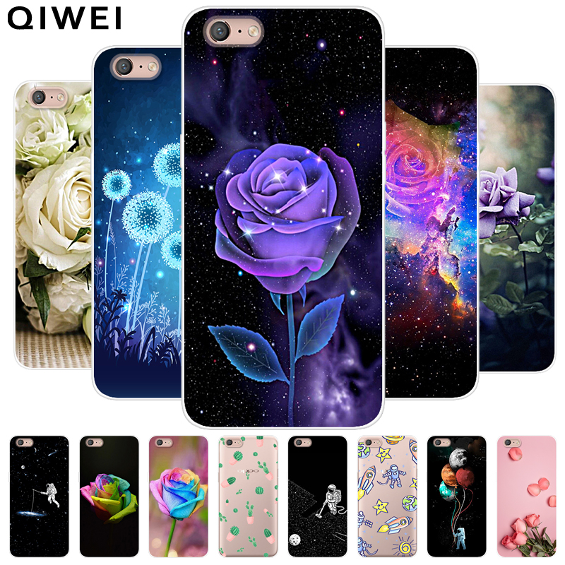 For <font><b>OPPO</b></font> <font><b>A71</b></font> 2018 <font><b>Case</b></font> Cover Slim Floral Soft Silicon <font><b>Phone</b></font> Back <font><b>Cases</b></font> For <font><b>OPPO</b></font> <font><b>A71</b></font> 2018 Full Protective <font><b>Case</b></font> For OPPOA71 A 71 image