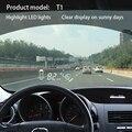 Custom Fit T1 HUD проектор Head Up дисплей автомобиля Obd2 автомобиля OBD вождения компьютера ветрового стекла превышения скорости сигнализации